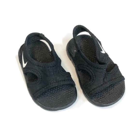 Nike Shoes   Unisex Black Sandals